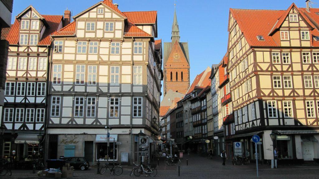 Im historischen Kern von Hannover gibt es keine B-Schein Wohnungen.